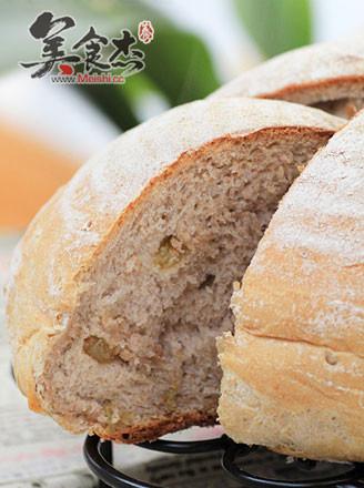 黑麦干果面包的做法