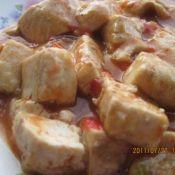 蕃茄汁豆腐