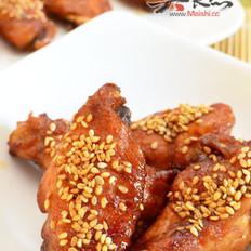 芝麻香汁烤鸡翅