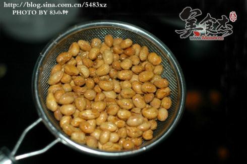 酥炸黄豆的家常做法