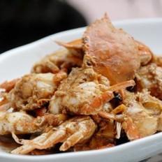 沙茶醬炒海蟹