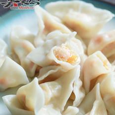 虾仁豆腐饺