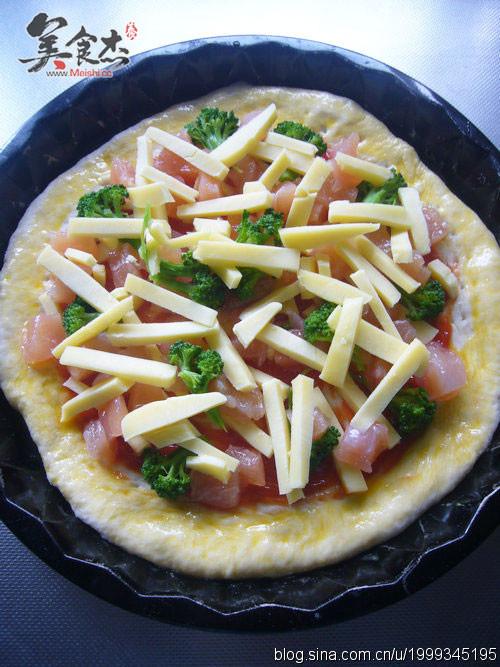 原味鸡肉披萨的做法大全