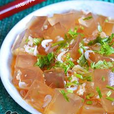 虾皮拌凉粉