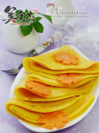 胡蘿卜玉米蛋餅的做法