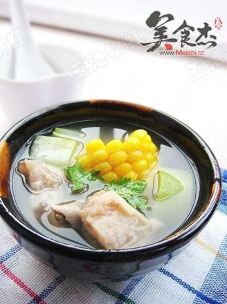 玉米葫芦瓜排骨汤的做法