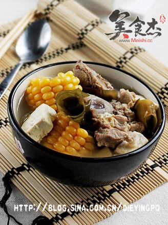 排骨豆腐海帶湯的做法