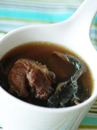 白菜干罗汉果猪骨汤的做法