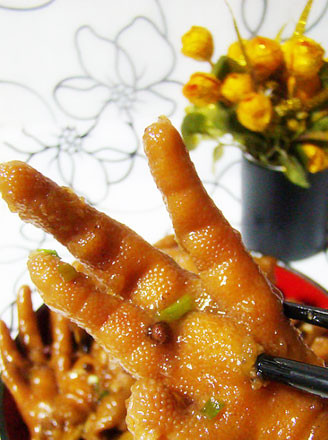 紅燒鳳爪的做法