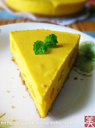 免烤芒果芝士蛋糕的做法