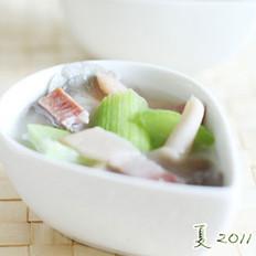 火腿丝瓜豆腐汤