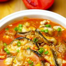 番茄炖黑鱼