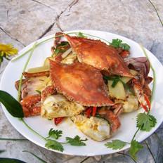 姜蔥梭子蟹