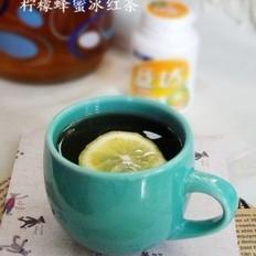 柠檬蜂蜜冰红茶