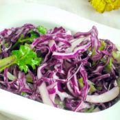 西芹紫甘蓝沙拉