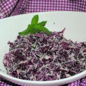 紫甘蓝芝士沙拉