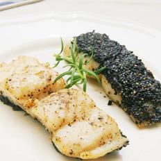 烤黑芝麻龙利鱼