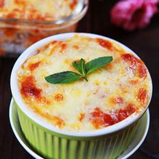 番茄肉酱奶酪焗饭
