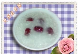 大米紅棗粥的做法