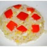 红柿子椒炒饭