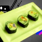 蔬菜蝦壽司
