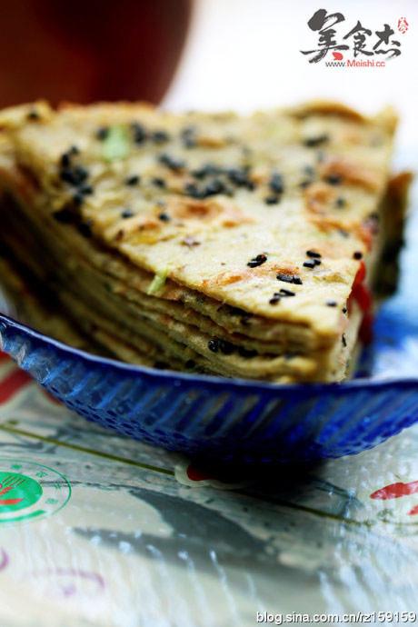 香葱豆渣鸡蛋薄饼的家常做法