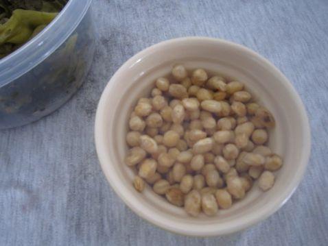黄豆苦瓜咸菜叶汤的简单做法