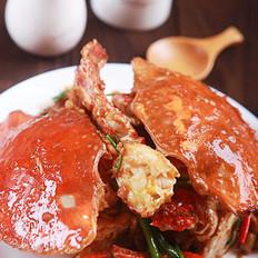 姜蔥炒梭子蟹