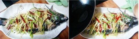 油泼鲤鱼的家常做法
