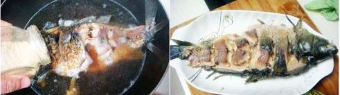 油泼鲤鱼的做法图解