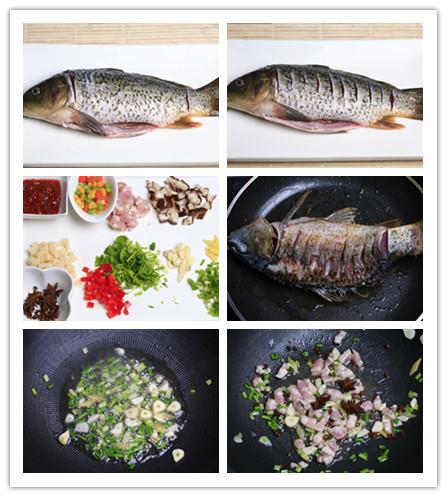 干烧鲤鱼的做法图解