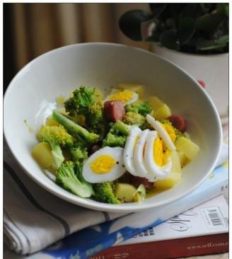 花椰菜土豆沙拉的做法