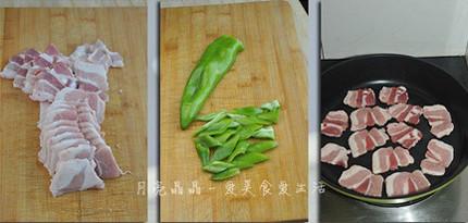 盐煎尖椒五花肉的做法大全