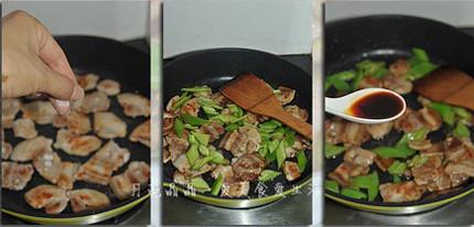 盐煎尖椒五花肉的做法图解
