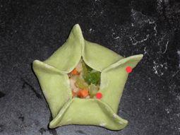 花朵蒸饺怎么炒