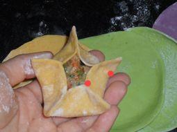 花朵蒸饺的简单做法