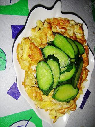 黄瓜炒鸡蛋的做法
