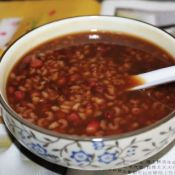 補血養心紅豆粥