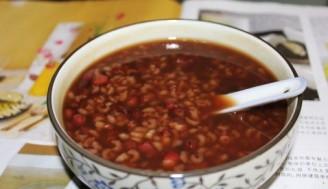 補血養心紅豆粥的做法