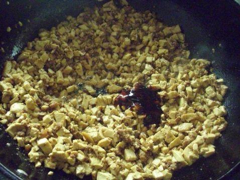 肉末炒豆腐怎么做