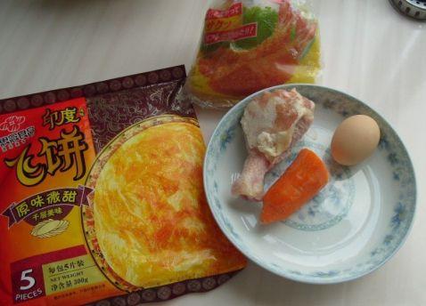 鸡肉胡萝卜卷的做法大全