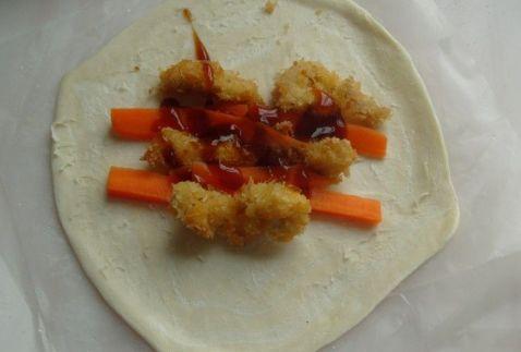 鸡肉胡萝卜卷怎么炒