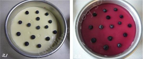 蓝莓酸奶芝士蛋糕怎样煸