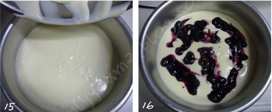 蓝莓酸奶芝士蛋糕怎么煮