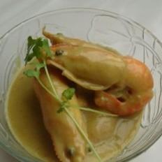 鮮美咖喱大蝦
