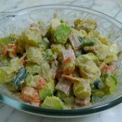 蔬菜杂果沙拉