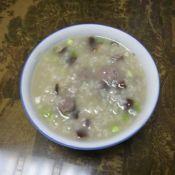 猪肝香菇粥