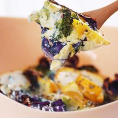 蛋香烤杂蔬
