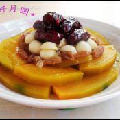金瓜莲子红枣台