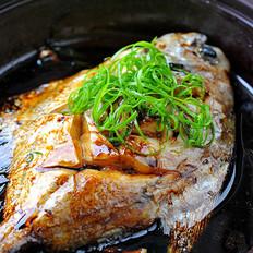 微波红烧鲳鱼
